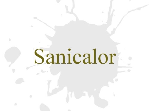 Sanicalor