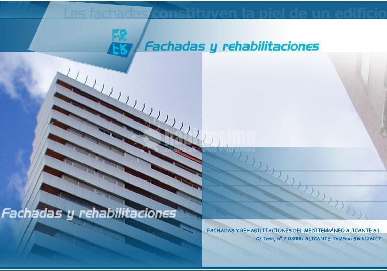 Fachadas y Rehabilitaciones del Mediterráneo Alicante