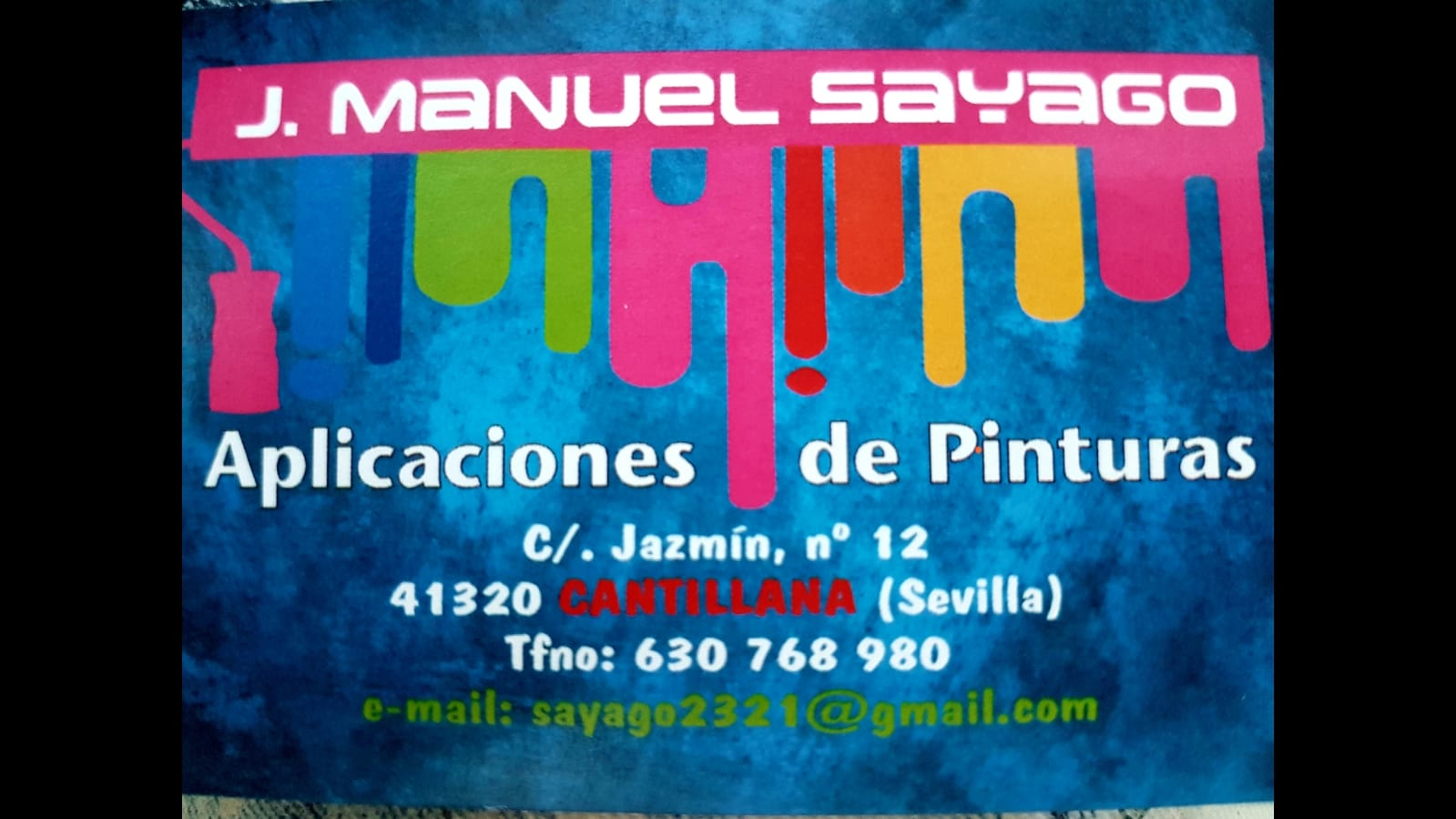 Aplicaciones de pinturas José Manuel Sayago