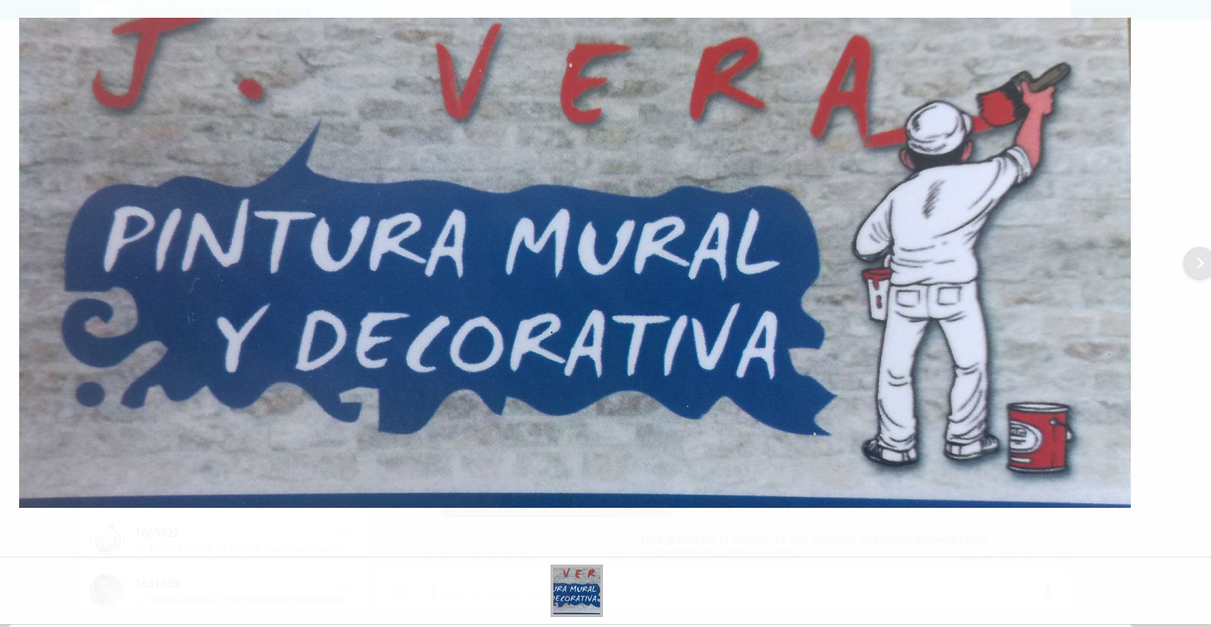 J. Vera Pintura Mural Y Decorativa