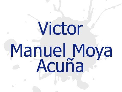 Victor Manuel Moya Acuña