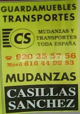 Transportes Mudanzas Casillas Sánchez
