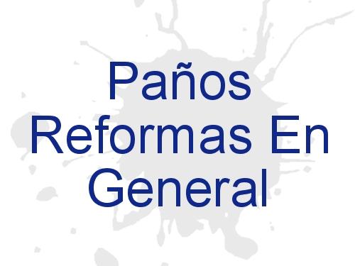 Paños Reformas en General