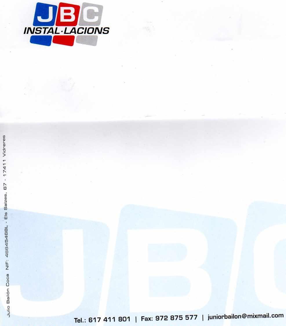 JBC Instalacions