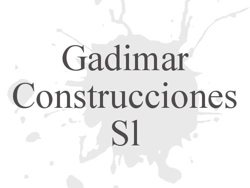 Gadimar Construcciones S.L.