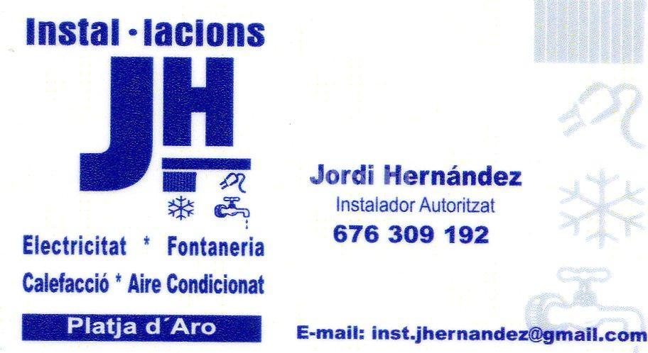 Instalaciones Jordi Hernandez