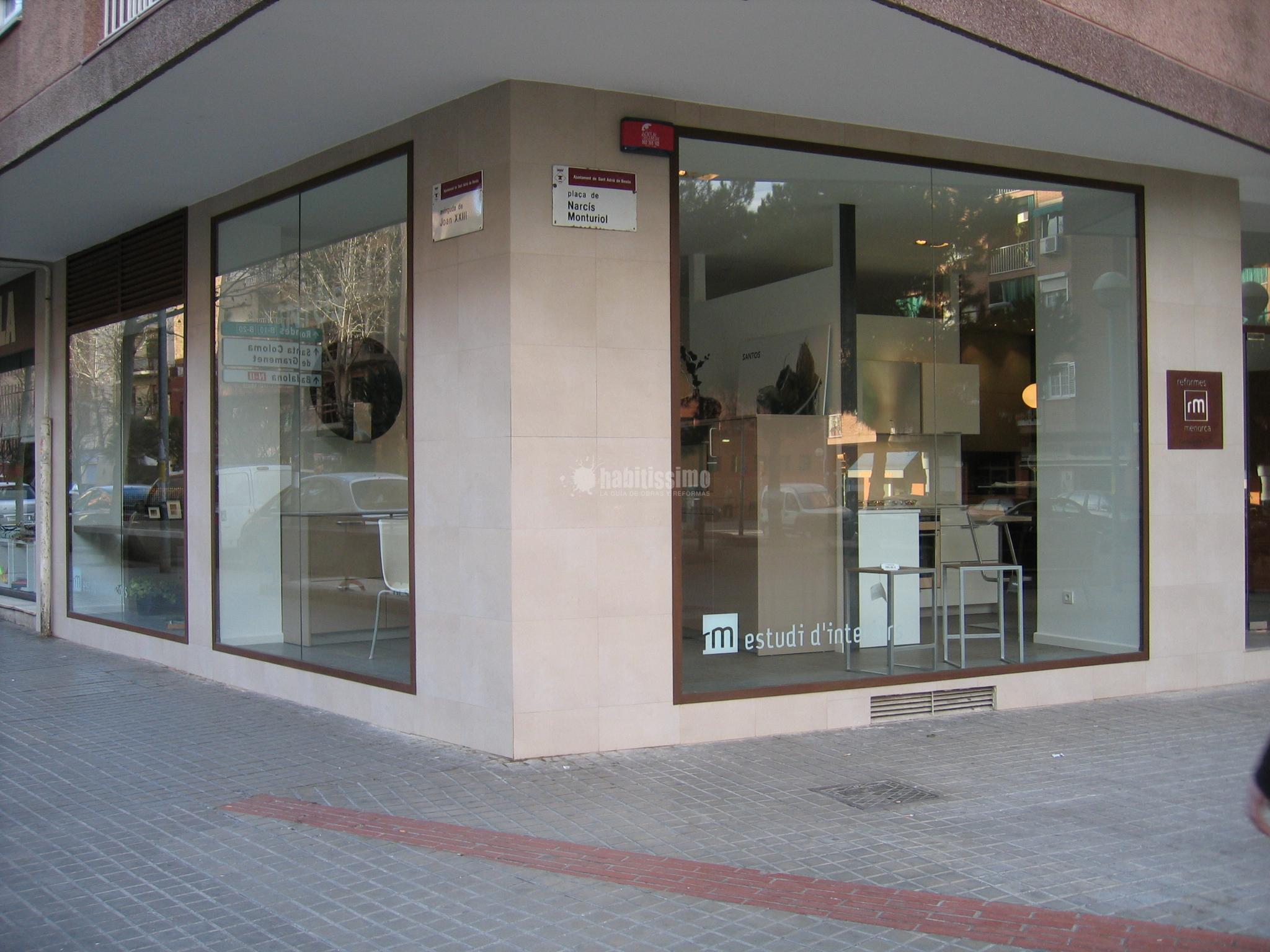 Reformas Menorca San Adrián del Besós PI Narciso Monturiol