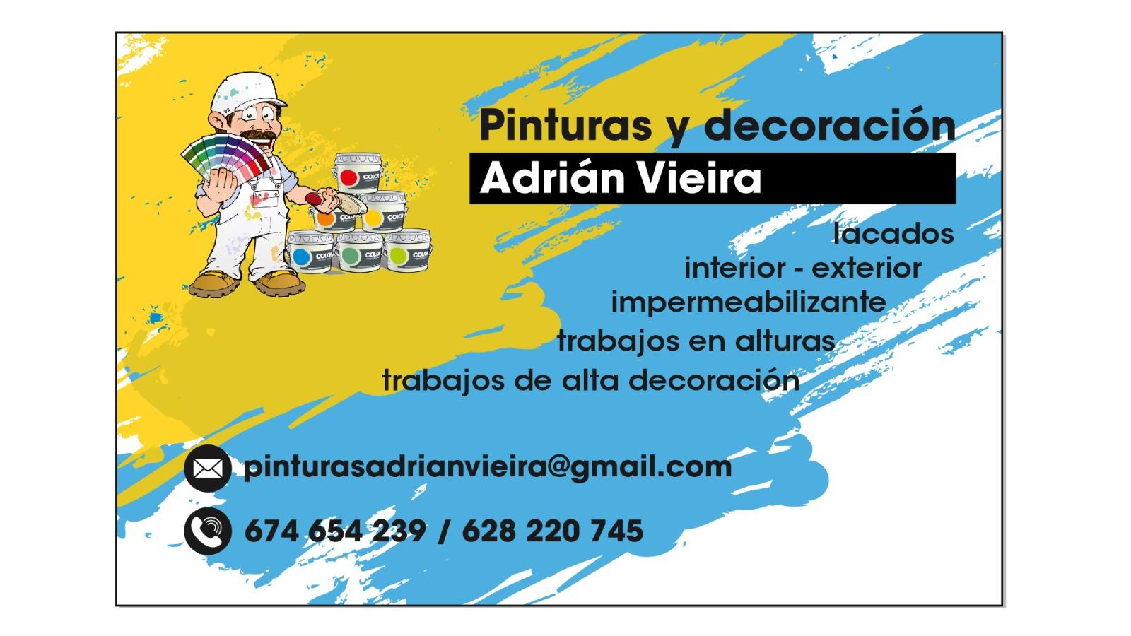 Pinturas Adrian Vieira