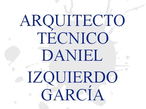 Arquitecto Técnico Daniel Izquierdo García