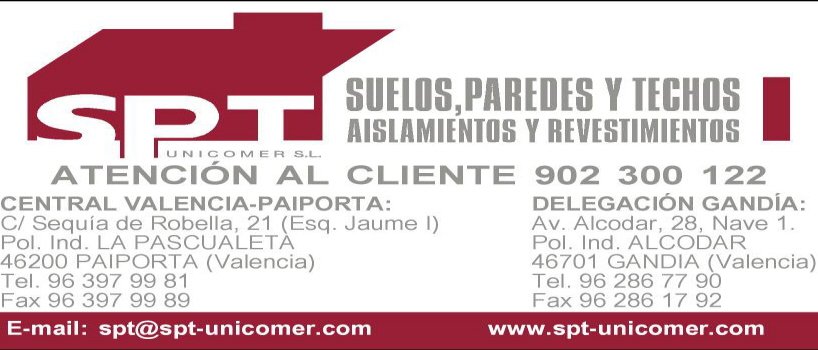 Spt Unicomer S.L. - Pladur Y Aislamientos