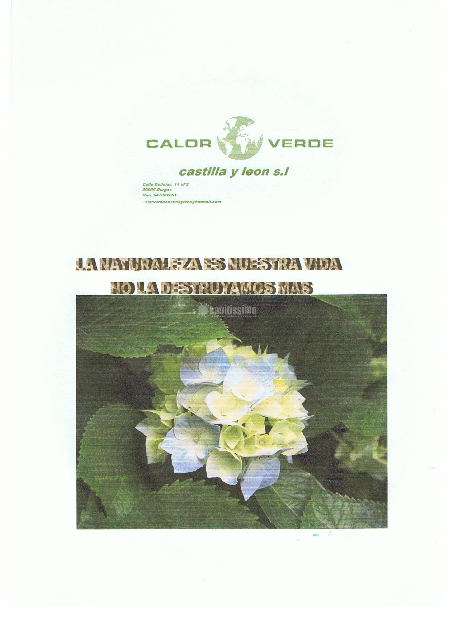 Calor Verde Castilla y León S.L.