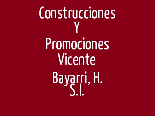 Construcciones Y Promociones Vicente Bayarri, H. S.l.