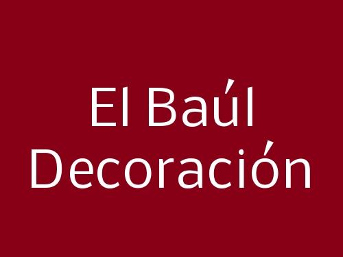 El Baúl Decoración