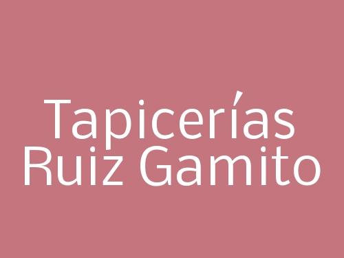 Tapicerías Ruiz Gamito