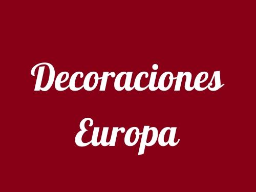 Decoraciones Europa