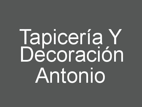 Tapicería Y Decoración Antonio