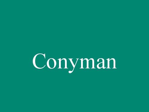 Conyman