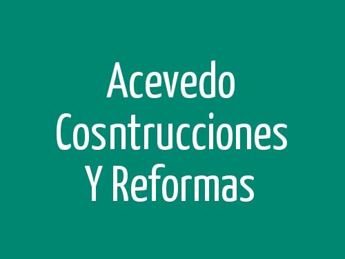 Acevedo Cosntrucciones y Reformas