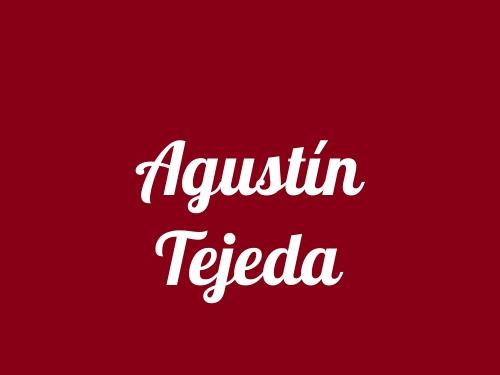 Agustín Tejeda