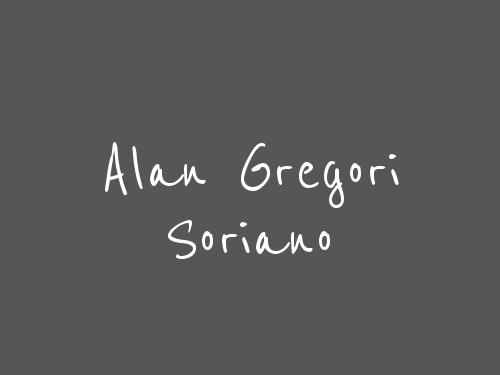 Alan Gregori Soriano