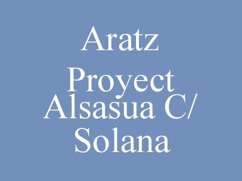 Aratz Proyect Alsasua c/ Solana