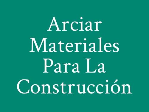 Arciar Materiales para la Construcción