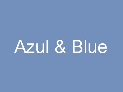 Azul & Blue