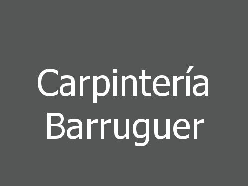 Carpintería Barruguer