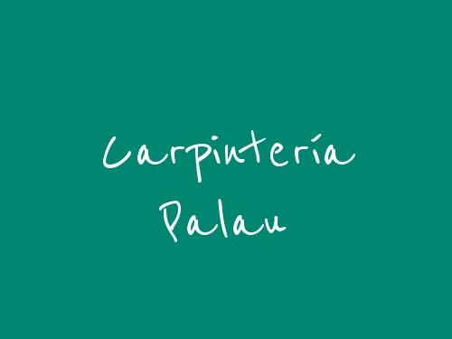 Carpintería Palau