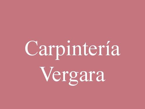 Carpintería Vergara