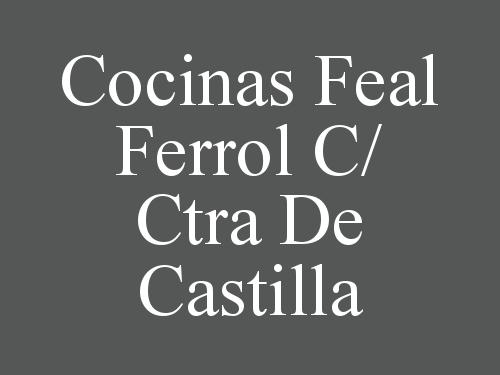 Cocinas Feal Ferrol c Ctra de Castilla