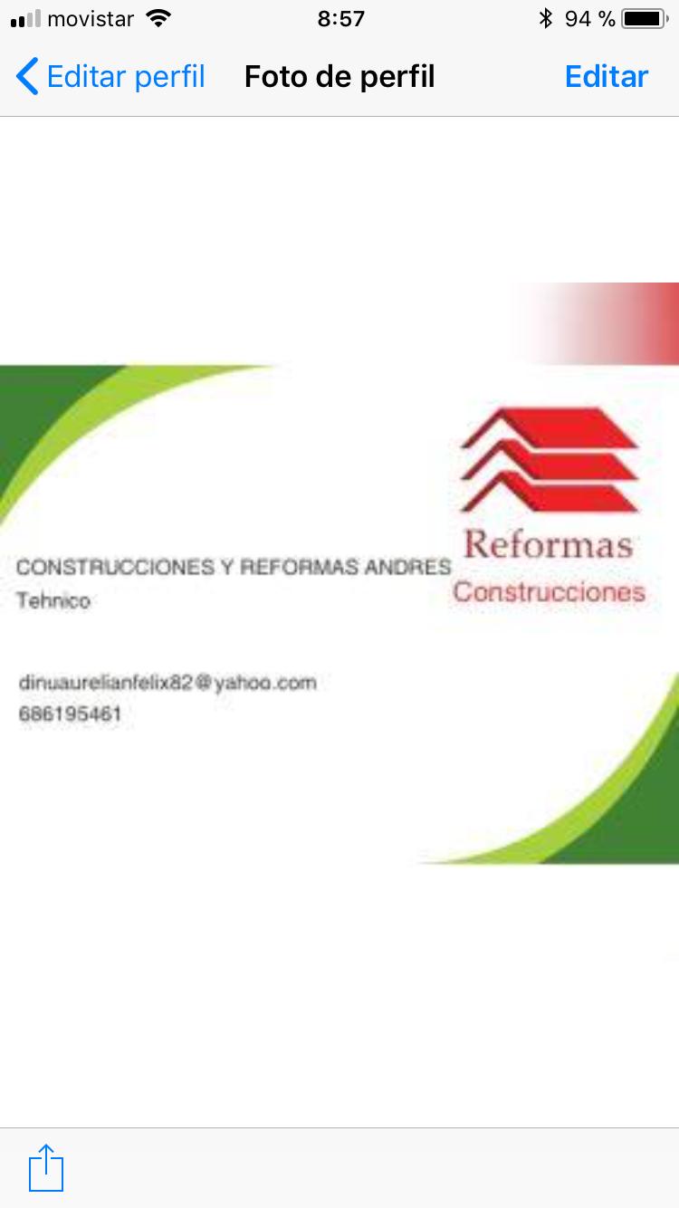 Construcciones Y Reformas Andrés