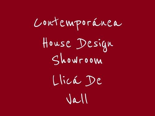 Contemporánea House Design Showroom Llicá de Vall