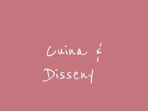 Cuina & Disseny