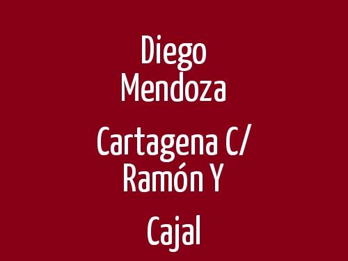 Diego Mendoza Cartagena c/ Ramón y Cajal