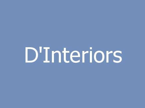 D'Interiors