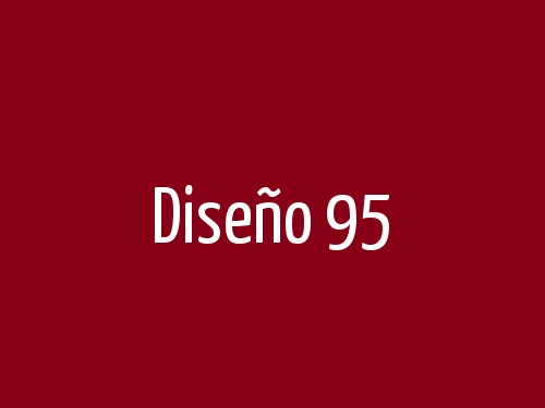 Diseño 95