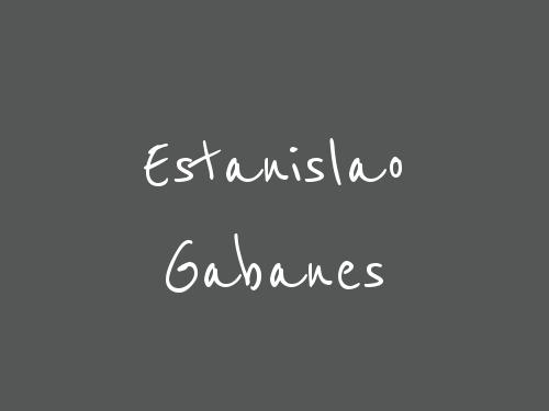 Estanislao Gabanes