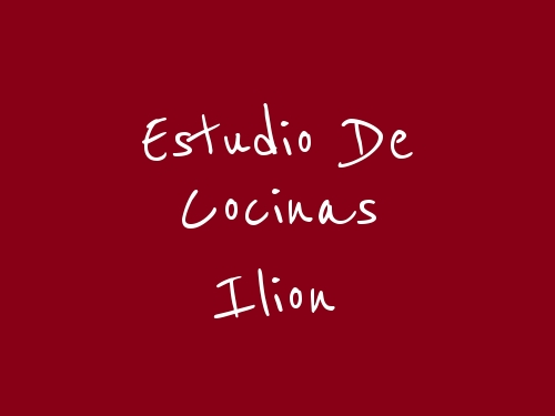 Estudio de Cocinas Ilion