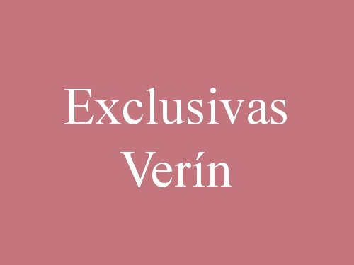 Exclusivas Verín