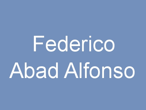 Federico Abad Alfonso