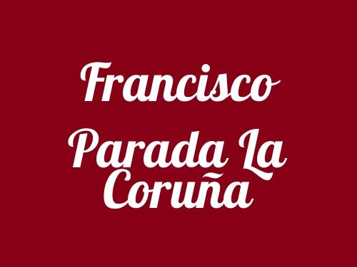 Francisco Parada La Coruña