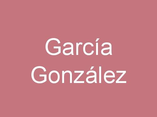 García González