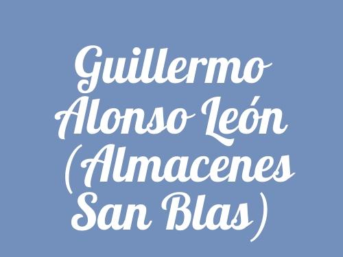 Guillermo Alonso León (Almacenes San Blas)