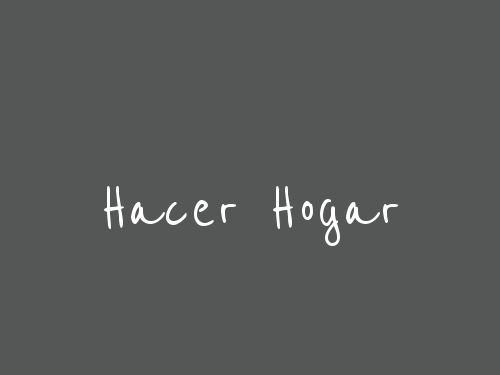 Hacer Hogar