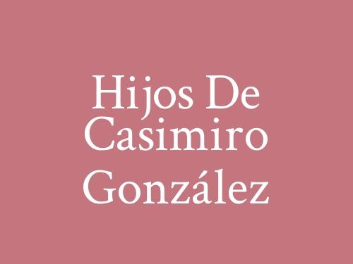 Hijos de Casimiro González