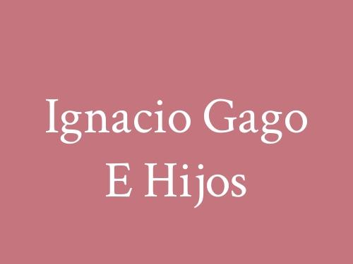 Ignacio Gago e Hijos - Materiales De Construcción