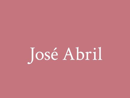 José Abril
