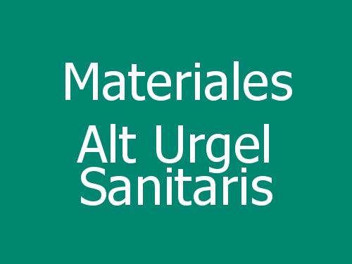 Materiales Alt Urgel Sanitaris