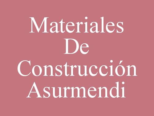 Materiales de Construcción Asurmendi